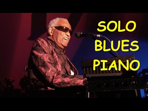 "Ray Charles Piano Solo - ""Black Coffee"""