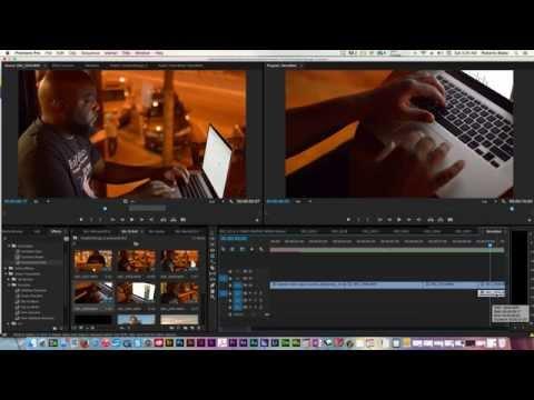 Basic Video Editing Adobe Premiere Pro CC Tutorial