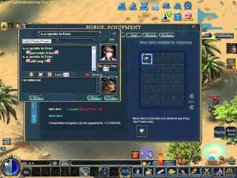 Conquer online You need Full +12 No hack for 1 ston +2   @  Error