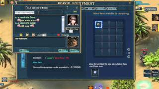 Repeat youtube video Conquer online You need Full +12 No hack for 1 ston +2   @  Error