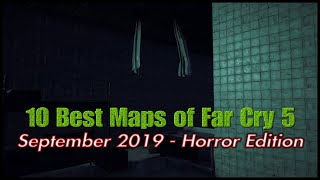 The 10 Best Maps of Far Cry 5 - September 2019 - Horror Edition (PS4) - Map Month Season Finale