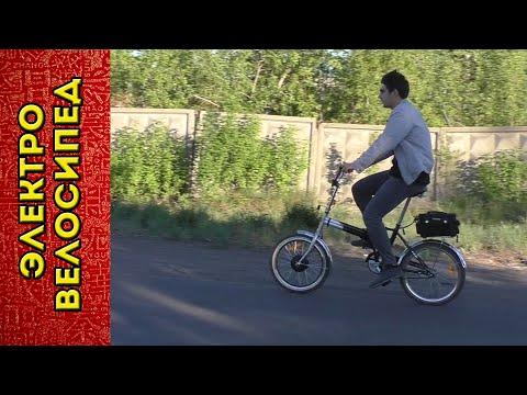 Мотор колесо из Китая / Электровелосипед из обычного велосипеда Стелс - пробные покатушки