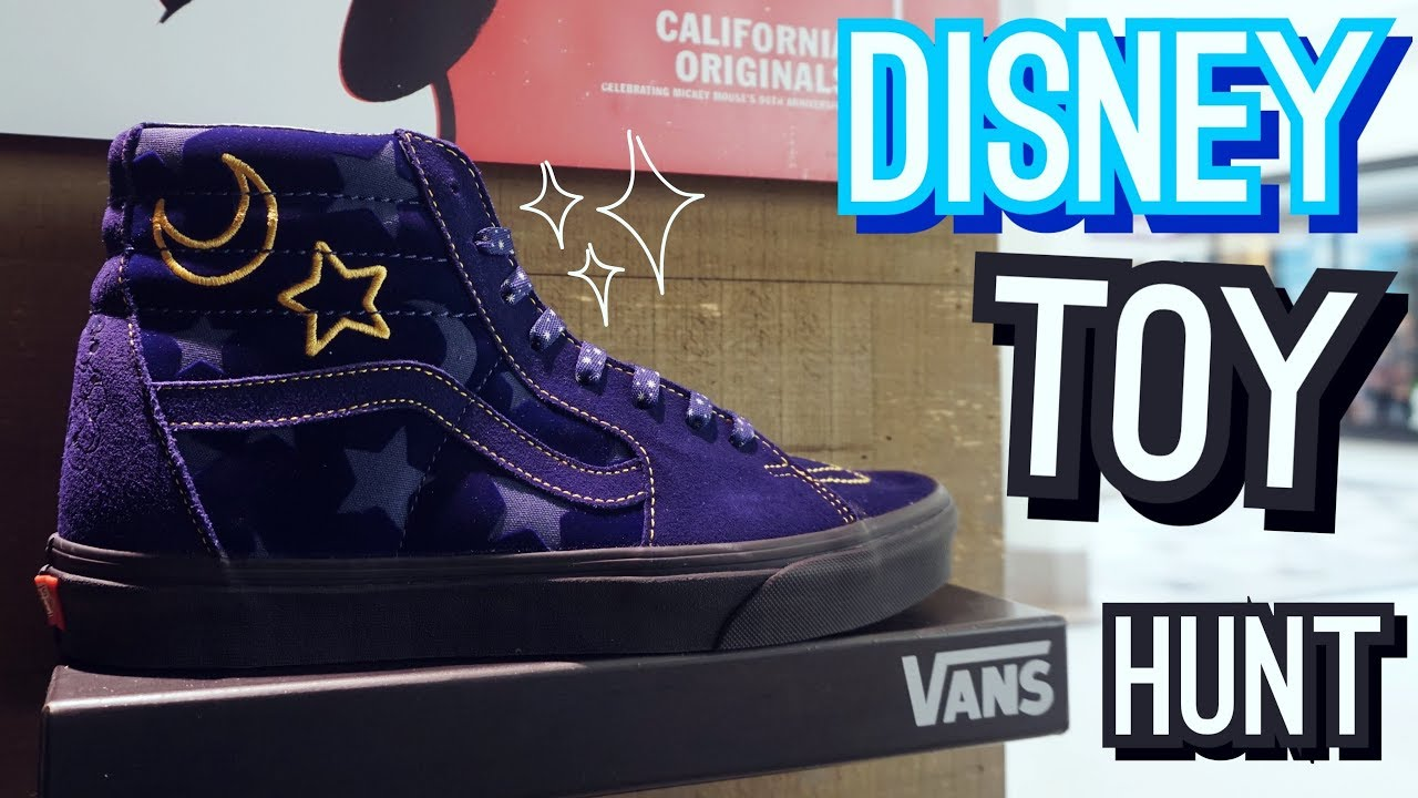 Toy Hunt at Disney Store & Vans Shoes!! New Halloween and Christmas ...