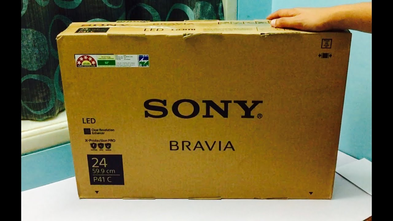 Sony Bravia 24inch Klv P412c Hd Led Tv Unboxing And Overview India Youtube