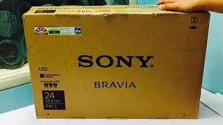 Sony Bravia 24inch KLV-P412C HD LED TV Unboxing And Overview (INDIA)
