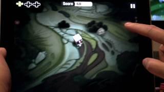 Minigore HD Gaming Demo on the iPad