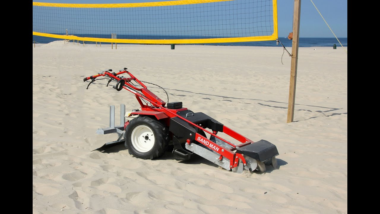 Beach Volleyball Court Sand Cleaner