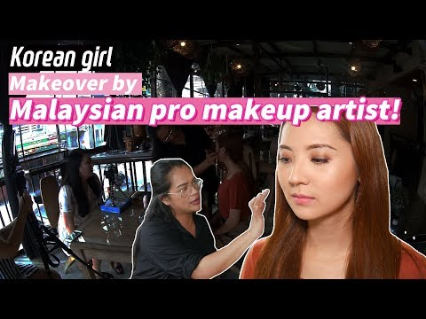 Korean girl met Malaysian Pro Makeup Artist ㅣBlimey