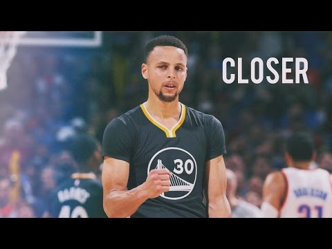 The Chainsmokers- Closer | Curry Vs OKC | 2015-2016 NBA Season