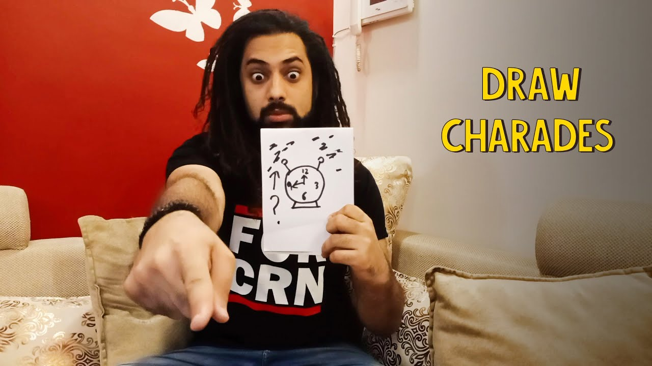 How Good Are You At Draw Charades?   Ok Tested