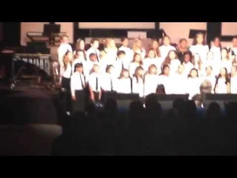 """Christmas is Coming"" by the Lakewood Christian Schools Elementary Choir"