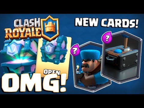 TWO NEW LEGENDARY CARDS? :: Clash Royale :: LEGENDARY CHEST OPENING!