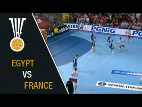 Egypt 24:28 France | IHFtv - World Men's Handball Championship Qatar 2015