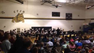 "California Trail MS 7th grade Band - ""Hyperdrive"""