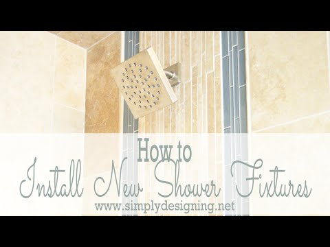 How to Install New Shower Fixtures