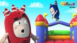 Oddbods | CARNAVAL DOS ODDBODS | Desenho animado para crianças