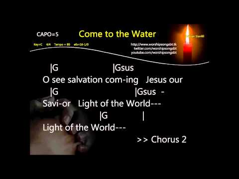 Come To The Water Karaoke, Instrumental, Cover - Kristian Stanfill
