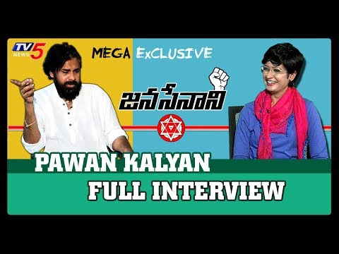 Pawan Kalyan Exclusive Interview | Sowjanya Nagar | Janasena Party | TV5 News Live