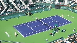P Kvitova VS  US Tennis A Anisimova - Indian Wells - 03/11/18