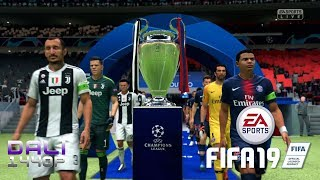 FIFA 19 UEFA Champion's League Final + FULL Victory Celebration PC ULTRA 1440p 60fps