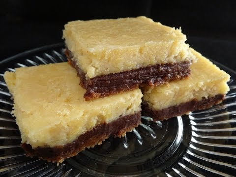 Pumpkin and Chocolate Cheesecake Bars - with yoyomax12
