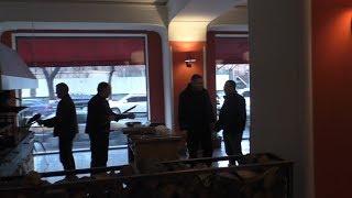 Yerevan, 02.02.19, Sa, Video-1, Kaghapetarani mot.Bank,dprots,restoran.