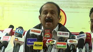 vaiko |  why vaiko support dmk in rk narang by election | latest tamil news today | chennai  redpix