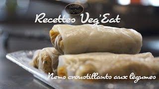 Nems croustillants aux Légumes (Vegan)
