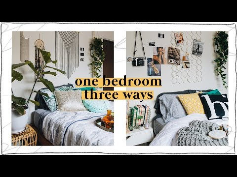 3 Pinterest Inspired Bedroom Designs (Affordable Room Transformation) // Lone Fox