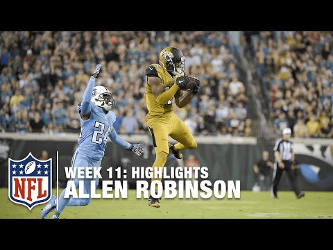 Allen Robinson Highlights (Week 11) | Titans vs. Jaguars | NFL