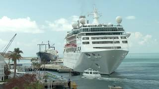 Post Irma - Cruise Ships Return To Key West (Video)