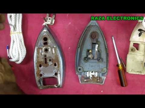 How to repair electric iron thermostat and iron wire a complete guide in urdu hindi