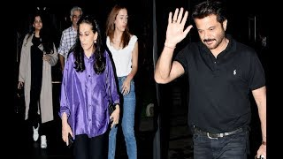 Anil Kapoor on dinner date with younger daughter's boyfriend