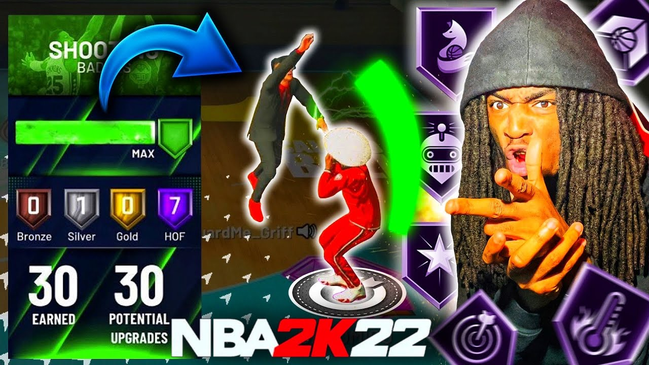 The POWER of MAX SHOOTING BADGES in NBA 2K22..