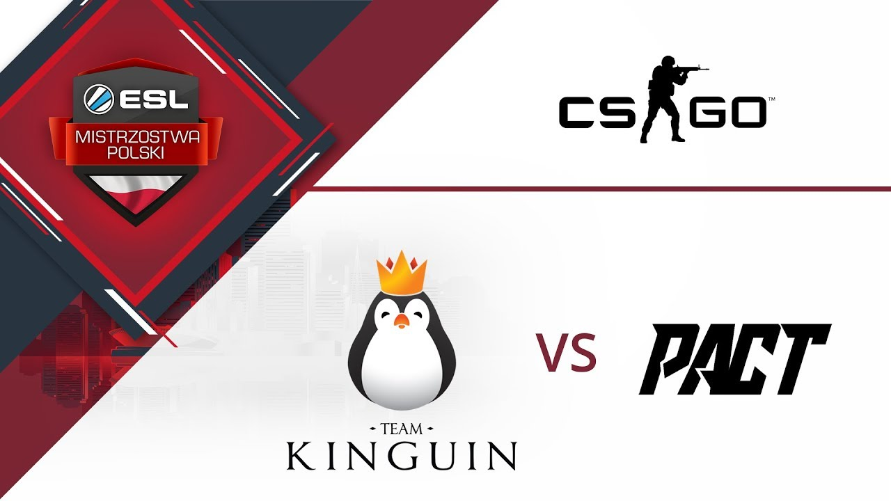 Team Kinguin vs PACT – Mapa #1 – Train | ESL Mistrzostwa Polski S16. W1D1
