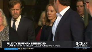 Legal Expert Weighs In On Felicity Huffman Sentencing