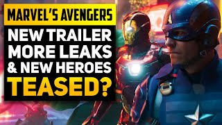 NEW Marvel's Avengers Trailer, Big Hero Teases & More Leaks! (Avengers Game News)