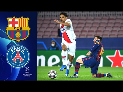 Барселона - ПСЖ. Лига чемпионов 2021. 1/8 финала Обзор   FIFA-ВАНГА прогноз