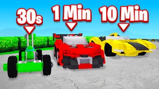 FASTEST SUPER CAR BUILD CHALLENGE! (Trailmakers)