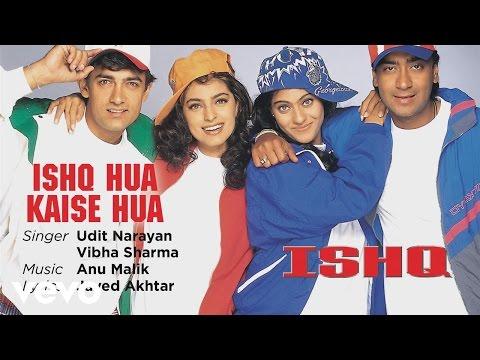 Ishq Hua Kaise Hua - Official Audio Song | Ishq | Udit Narayan |Anu Malik | Javed Akhtar