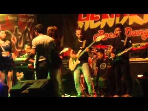 Kehancuran cinta HENDRISTA live show