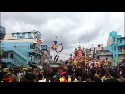 Local Drum Music in tamilnadu for ganesh sathurti oorvalam