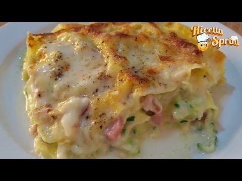 Ricetta Lasagne Tricolore Con Speck E Zucchine Un Fantastico