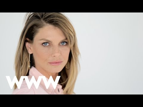 Angela Lindvall on Being Helicoptered to Set   Fashion Firsts   Who What Wear