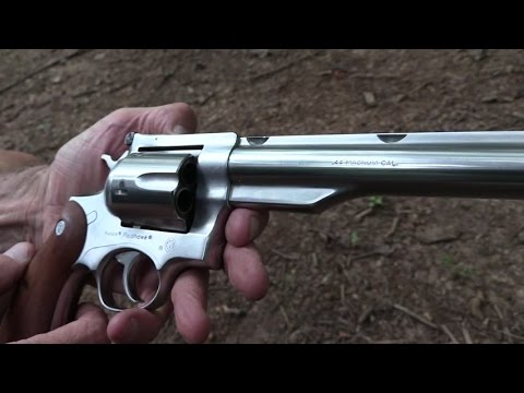 Ruger RedHawk .44 Magnum Close-up