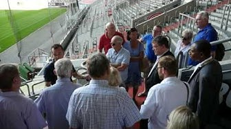 Sommertour: Besuch Esprit Arena
