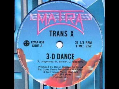 TRANS-X - 3-D DANCE (℗1983) mp3