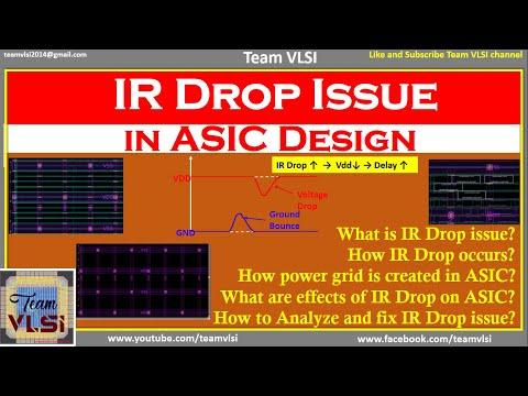 IR Drop Issue In VLSI | What Is IR Drop In ASIC | Why IR Drop | Effects Of IR Drop