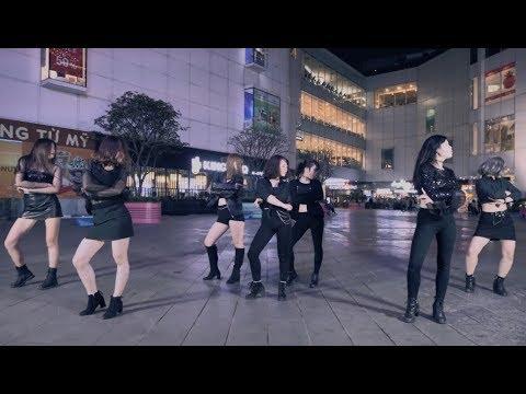 [Kpop In Public Challenge] CLC (씨엘씨) _ BLACK DRESS Dance Cover By B-Wild's Trainee From Vietnam
