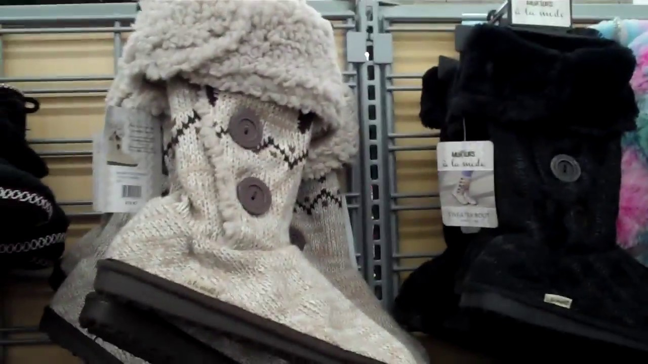 Slippers and Boots At Walmart 2017 - YouTube 88a739777ee